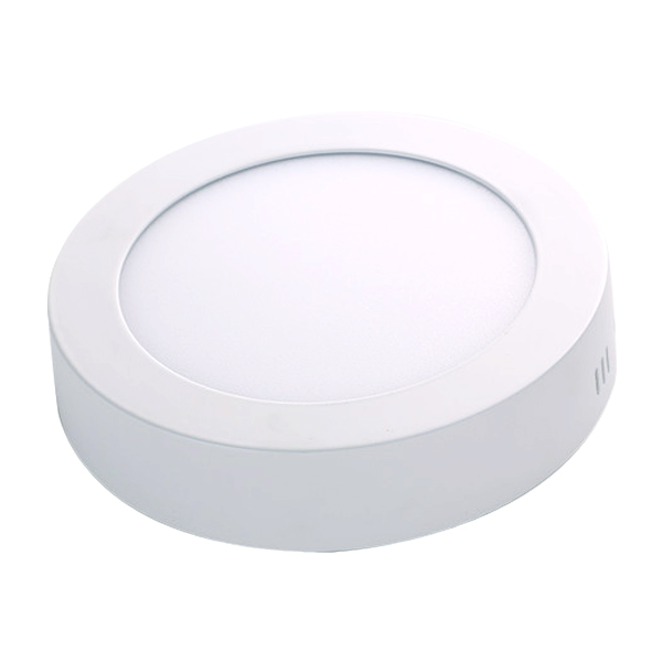 LED 明装面板灯 圆形